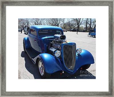 1934 Ford Two Door Sedan Framed Print