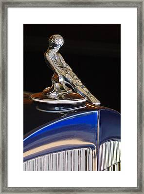 1934 Packard Hood Ornament Jill Reger Photographer Framed Print by Jill Reger