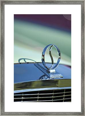1934 Studebaker Hood Ornament Framed Print by Jill Reger