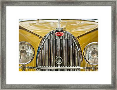 1935 Bugatti Type 57 Roadster Grille Framed Print