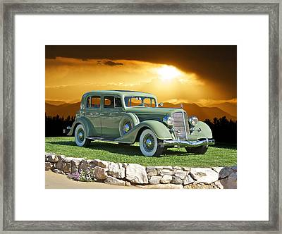 1935 Buick 61 Sedan Framed Print by Dave Koontz
