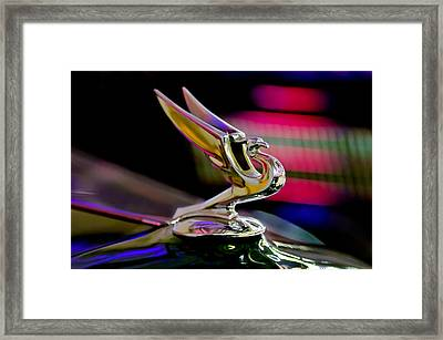 1935 Chevrolet Hood Ornament 2 Framed Print