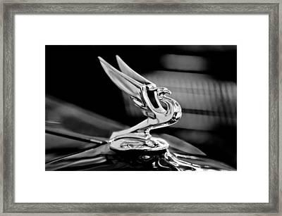 1935 Chevrolet Hood Ornament 3 Framed Print by Jill Reger
