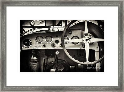 1935 Maserati 4cs Framed Print by Tim Gainey