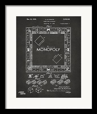 Monopoly Framed Prints