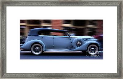 1935 Packard  Framed Print by Steven Digman