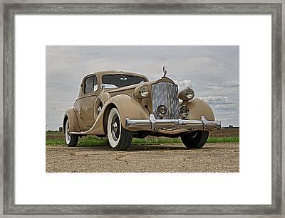 1935 Packard Super 8 Framed Print by Jerry Druhan