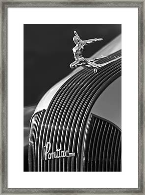 1935 Pontiac Sedan Hood Ornament 3 Framed Print by Jill Reger