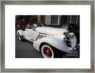 1936 Auburn Super Charger Framed Print