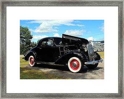 1936 Buick Framed Print by Joseph Marquis