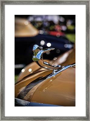 1936 Cadillac Series 75 By Fleetwood Framed Print