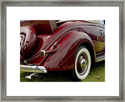 1936 Ford Phaeton Framed Print