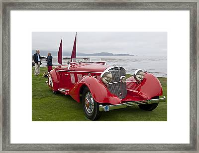 1936 Mercedes-benz 540k Mayfair Special Roadster Framed Print