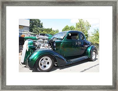 1936 Plymouth Muscle Car Framed Print