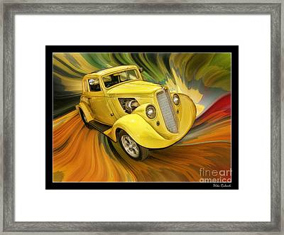 1936 Willys Framed Print