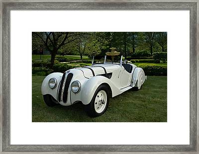 1937 Bmw 328 Roadster Framed Print by Tim McCullough