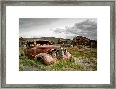 1937 Chevrolet Coupe @ Bodie Framed Print by Chris Frost