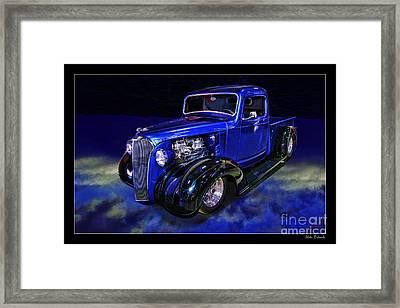 1937 Chevrolet Pickup Truck Framed Print