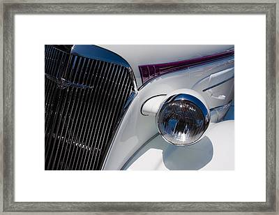 1937 Chevy 2 Door Coupe Framed Print by David Patterson
