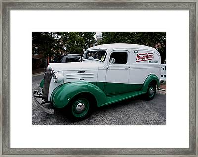 1937 Chevy Delivery Van Framed Print