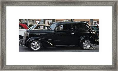1937 Chevy Flameon Framed Print