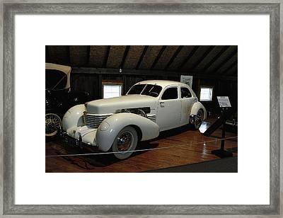 1937 Cord 812 Westchester Framed Print