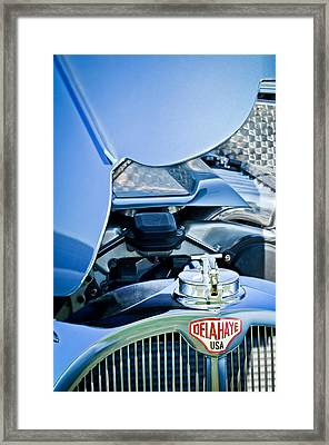 1937 Delahaye 115a Engine Framed Print