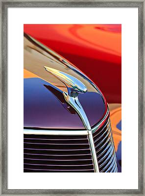 1937 Ford Hood Ornament 2 Framed Print
