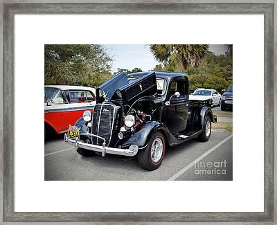 1937 Ford Pick Up Framed Print