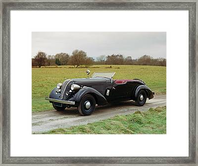 1937 Hudson Eight Century 2-door Framed Print