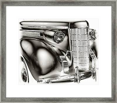 1937 Olds Framed Print by JRP Photography
