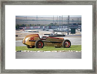 1937 Packard Custom Indy Conversion Framed Print by Dave Koontz