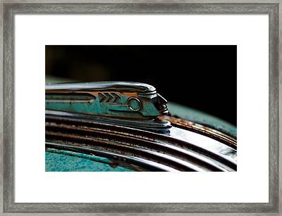 1937 Pontiac 224 Hood Ornament Framed Print