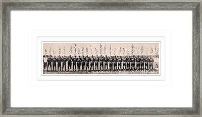 1937 Washington Redskins Team Photo Framed Print by Unknown