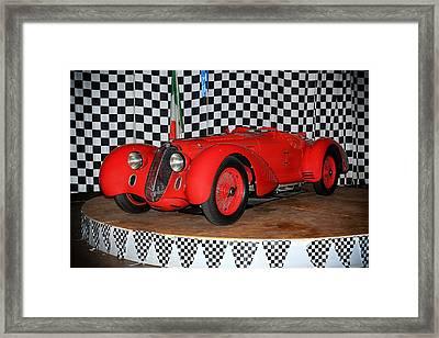 Framed Print featuring the photograph 1938 Alfa Romeo 2900b Mm by Boris Mordukhayev