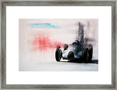 1938 Auto Union Type D Framed Print
