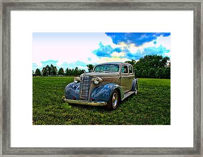 1938 Chevrolet 4 Door Sedan Framed Print by Tim McCullough