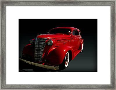 1938 Chevrolet Sedan Hot Rod Framed Print by Tim McCullough