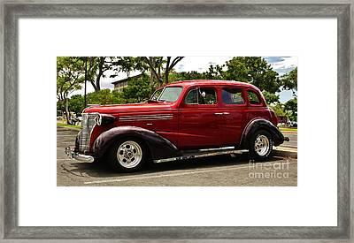 1938 Chevy 4 Door Sedan Framed Print