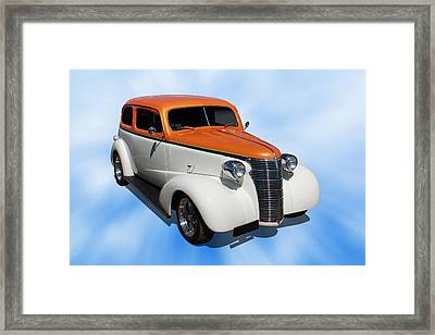 Framed Print featuring the photograph 1938 Chevy Tudor by Keith Hawley