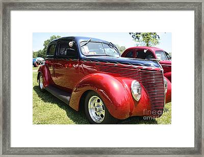 1938 Ford Two Door Sedan Framed Print