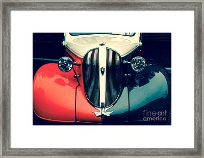 1938 Plymouth Deluxe  Framed Print by Steven Digman