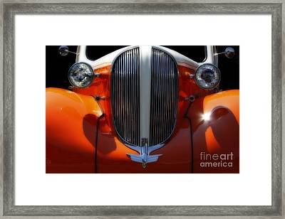 1938 Plymouth  Framed Print by Steven Digman