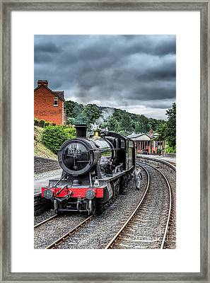 1938 Steam Loco Framed Print by Adrian Evans