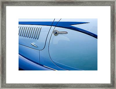 1938 Talbot-lago 150c Ss Figoni And Falaschi Cabriolet Side Door Handle Framed Print by Jill Reger