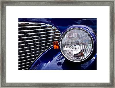 1939 Chevrolet Coupe Framed Print by David Patterson