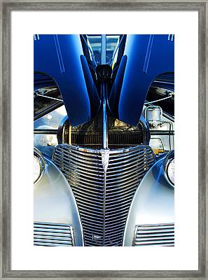 1939 Chevrolet Coupe Grille -115c Framed Print