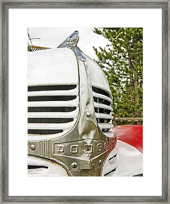 1939 Dodge Truck Grill Framed Print