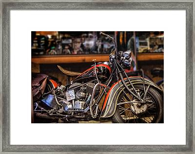 1939 Indian Chief Framed Print