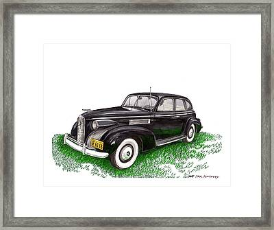 1939 Lasalle 5019 Sedan Framed Print by Jack Pumphrey
